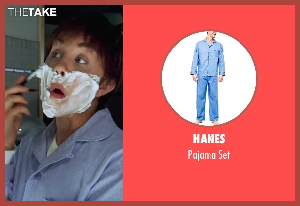 Hanes blue set from She's The Man seen with Amanda Bynes (Viola)