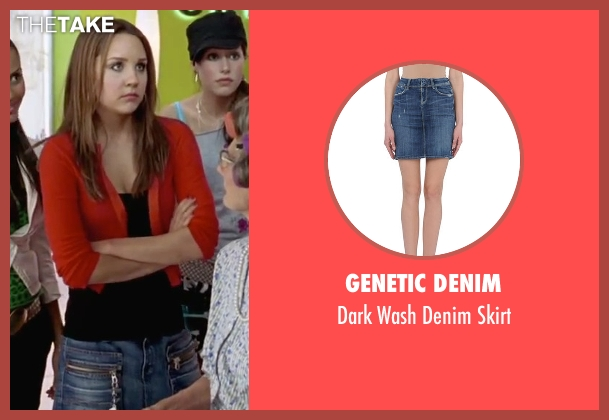 Genetic Denim blue skirt from She's The Man seen with Amanda Bynes (Viola)