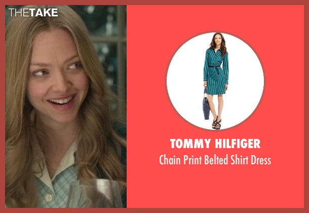 Tommy Hilfiger green dress from Love the Coopers seen with Amanda Seyfried (Ruby)