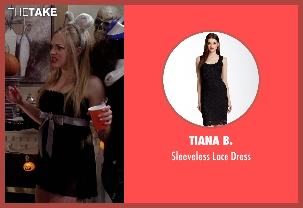 Tiana B. black dress from Mean Girls seen with Amanda Seyfried (Karen Smith)