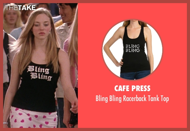 Cafe Press black top from Mean Girls seen with Amanda Seyfried (Karen Smith)