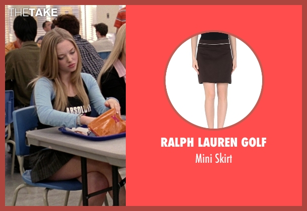Ralph Lauren Golf brown skirt from Mean Girls seen with Amanda Seyfried (Karen Smith)
