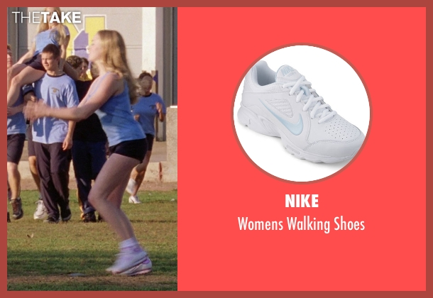 Nike white shoes from Mean Girls seen with Amanda Seyfried (Karen Smith)