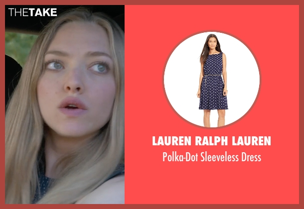 Lauren Ralph Lauren blue dress from Ted 2 seen with Amanda Seyfried (Samantha Jackson)