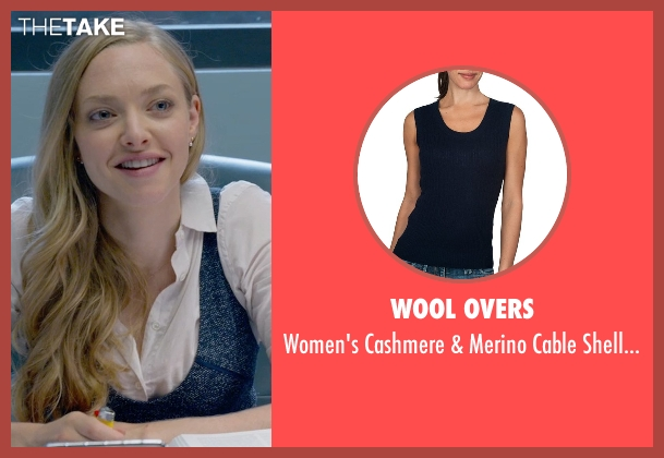 Wool Overs blue top from Ted 2 seen with Amanda Seyfried (Samantha Jackson)