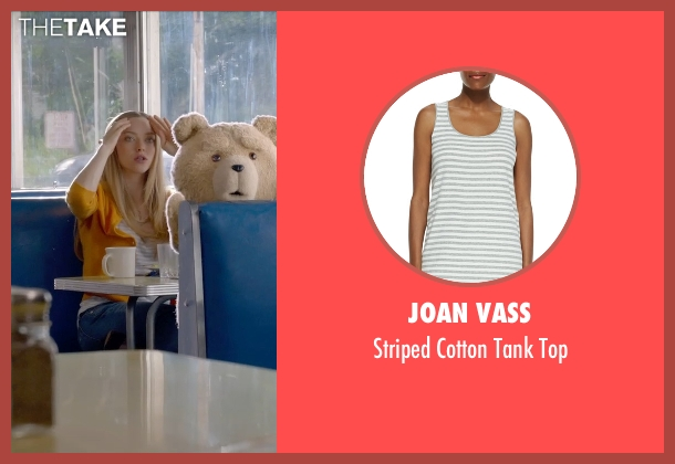 Joan Vass gray top from Ted 2 seen with Amanda Seyfried (Samantha Jackson)