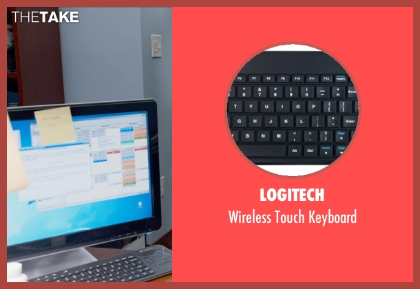 Logitech keyboard from Ted 2 seen with Amanda Seyfried (Samantha Jackson)