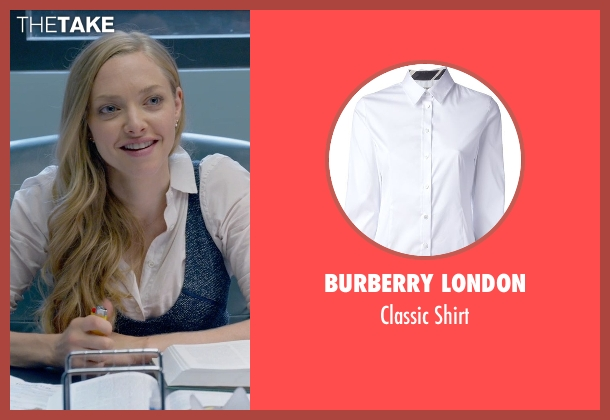 Burberry London white shirt from Ted 2 seen with Amanda Seyfried (Samantha Jackson)