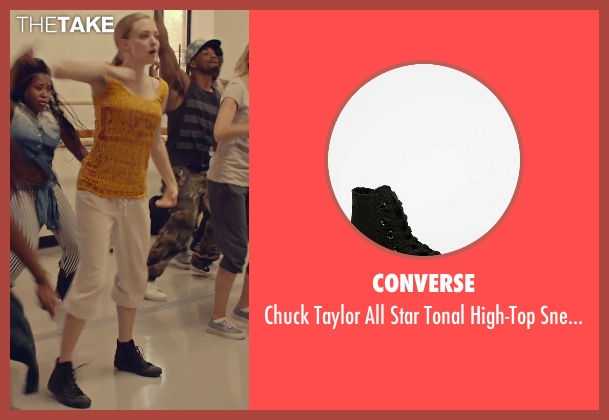 Converse black sneaker from While We're Young seen with Amanda Seyfried (Darby)