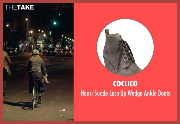 Coclico brown boots from While We're Young seen with Amanda Seyfried (Darby)