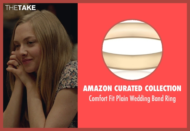 Amazon Curated Collection gold ring from While We're Young seen with Amanda Seyfried (Darby)