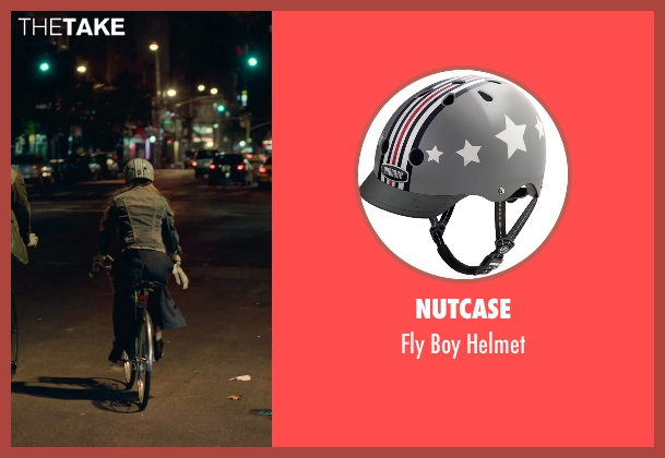Nutcase helmet from While We're Young seen with Amanda Seyfried (Darby)