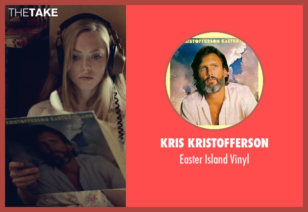 Kris Kristofferson vinyl from While We're Young seen with Amanda Seyfried (Darby)