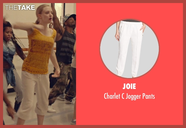 Joie white pants from While We're Young seen with Amanda Seyfried (Darby)