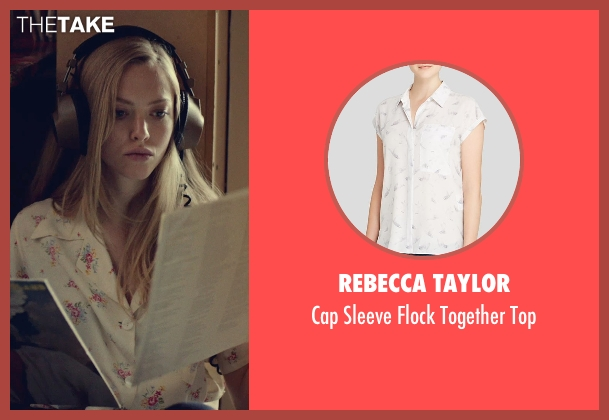 Rebecca Taylor white top from While We're Young seen with Amanda Seyfried (Darby)