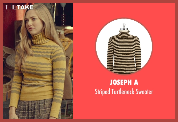 Joseph A yellow sweater from While We're Young seen with Amanda Seyfried (Darby)
