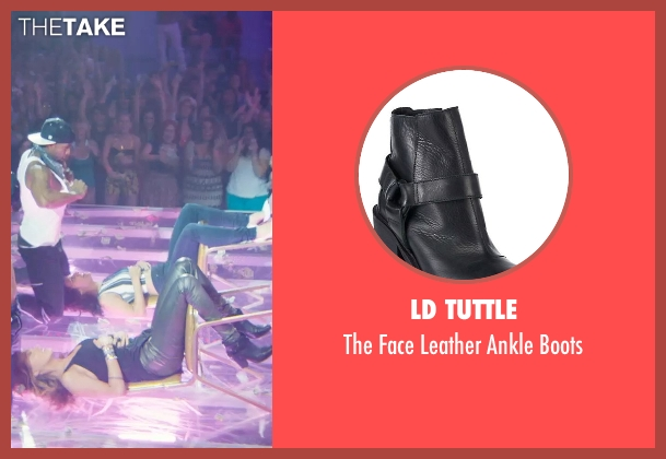 LD Tuttle black boots from Magic Mike XXL seen with Amber Heard (Unknown Character)