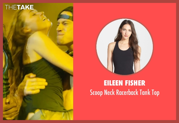 Eileen Fisher black top from Magic Mike XXL seen with Amber Heard (Unknown Character)