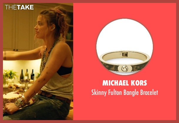 Michael Kors bracelet from Magic Mike XXL seen with Amber Heard (Unknown Character)