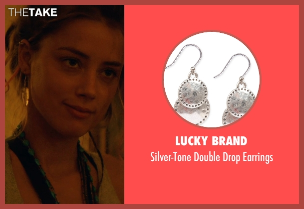 Lucky Brand earrings from Magic Mike XXL seen with Amber Heard (Unknown Character)