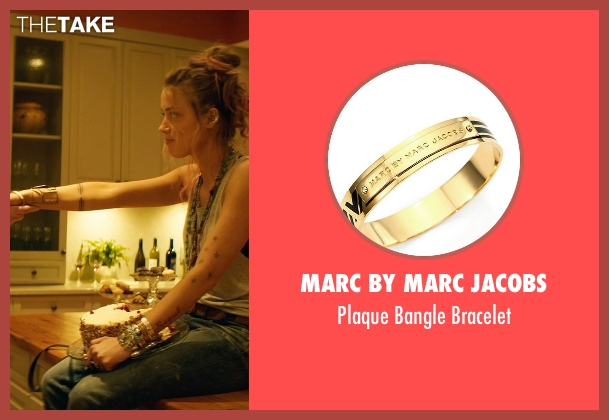 Marc by Marc Jacobs gold bracelet from Magic Mike XXL seen with Amber Heard (Unknown Character)