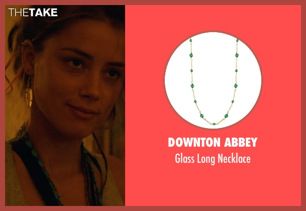 Downton Abbey necklace from Magic Mike XXL seen with Amber Heard (Unknown Character)