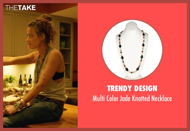 Trendy Design necklace from Magic Mike XXL seen with Amber Heard (Unknown Character)