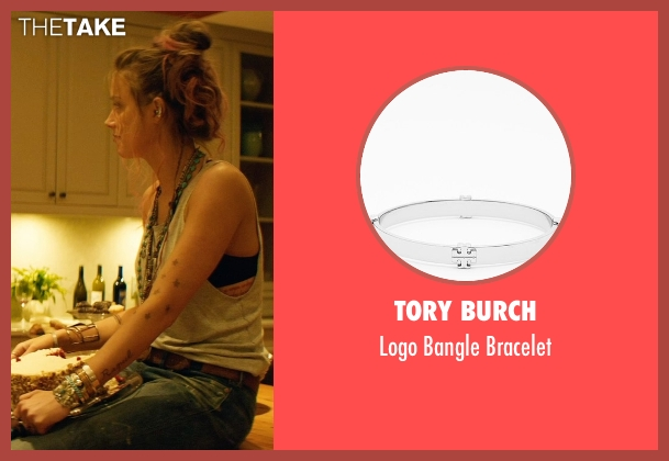 Tory Burch silver bracelet from Magic Mike XXL seen with Amber Heard (Unknown Character)