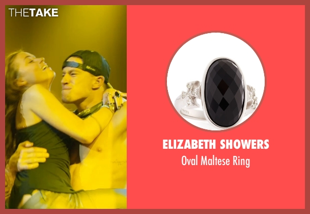 Elizabeth Showers silver ring from Magic Mike XXL seen with Amber Heard (Unknown Character)