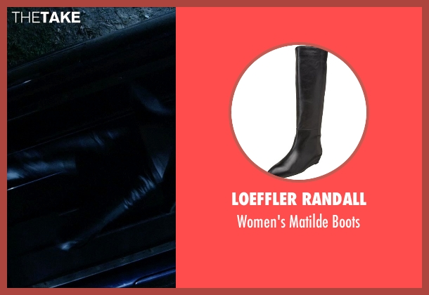 Loeffler Randall black boots from Vice seen with Ambyr Childers (Kelly)