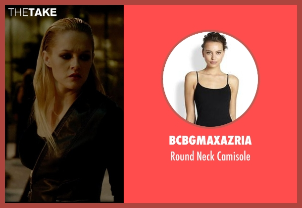 BCBGMAXAZRIA black camisole from Vice seen with Ambyr Childers (Kelly)
