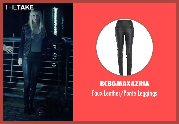 BCBGMAXAZRIA black leggings from Vice seen with Ambyr Childers (Kelly)