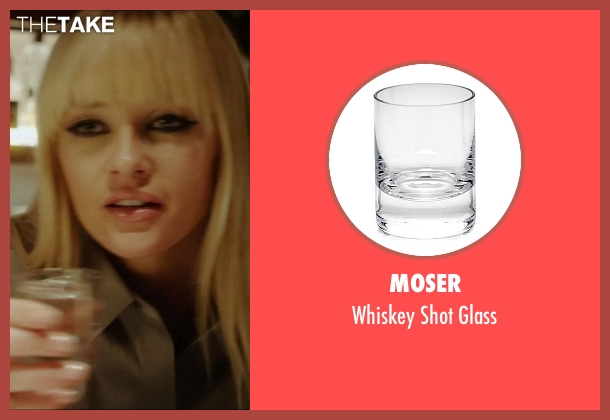 Moser glass from Vice seen with Ambyr Childers (Kelly)