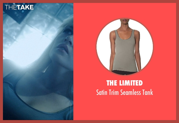 The Limited gray tank from Vice seen with Ambyr Childers (Kelly)