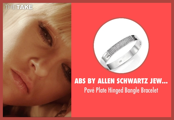 ABS by Allen Schwartz Jewelry silver bracelet from Vice seen with Ambyr Childers (Kelly)