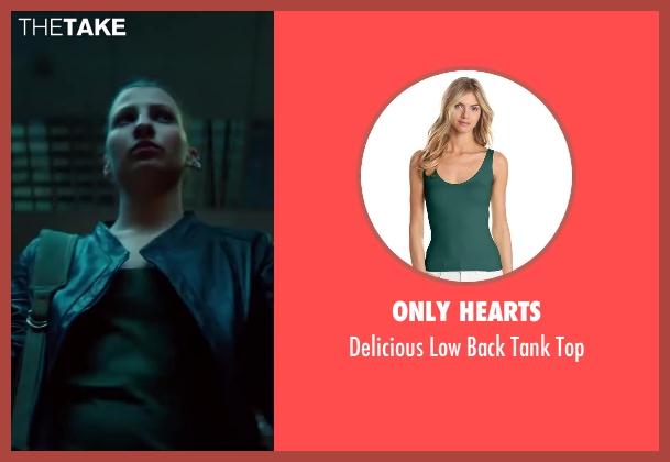 Only Hearts green top from The November Man seen with Amila Terzimehic (Alexa)