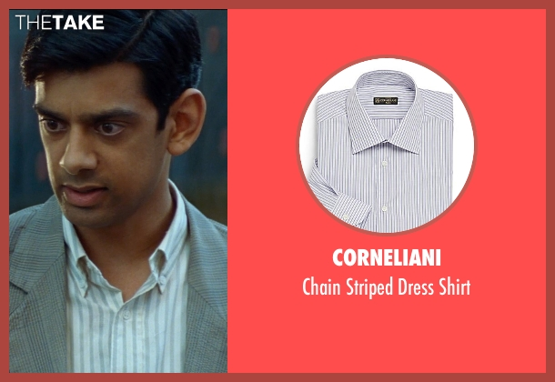 Corneliani white shirt from The Hundred-Foot Journey seen with Amit Shah (Mansur)
