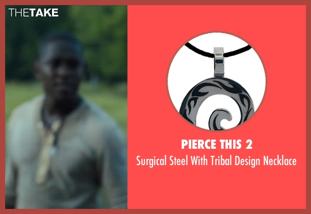 Pierce this 2 necklace from The Maze Runner seen with Aml Ameen (Alby)