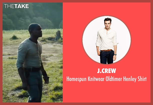 J.Crew white shirt from The Maze Runner seen with Aml Ameen (Alby)