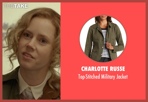 Charlotte Russe green jacket from Her seen with Amy Adams (Amy)