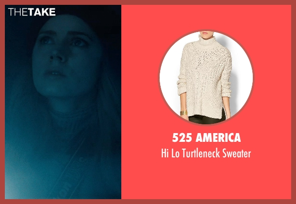 525 AMERICA white sweater from Man of Steel seen with Amy Adams (Lois Lane)