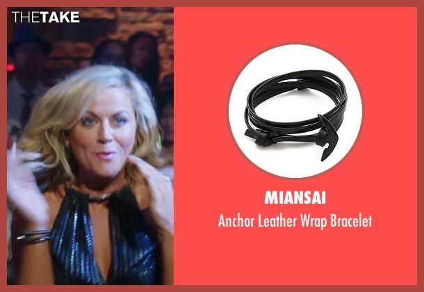 Pura Vida black bracelet from Sisters seen with Amy Poehler (Maura Ellis)