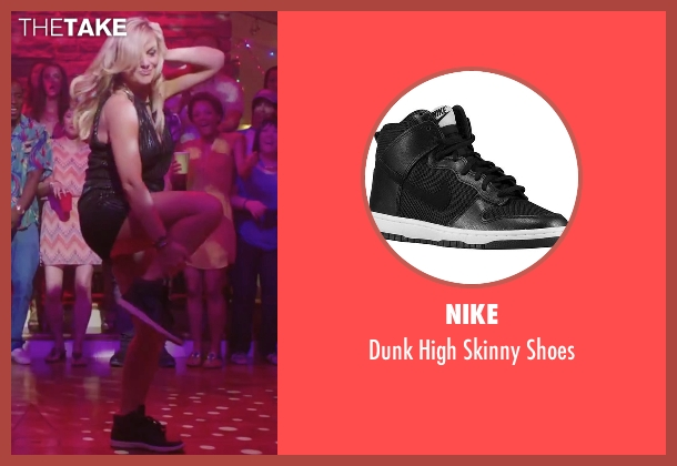 Nike black shoes from Sisters seen with Amy Poehler (Maura Ellis)