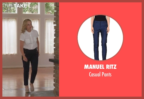 Manuel Ritz blue pants from Sisters seen with Amy Poehler (Maura Ellis)