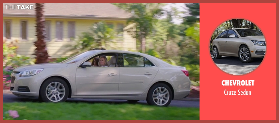 Chevrolet sedan from Sisters seen with Amy Poehler (Maura Ellis)