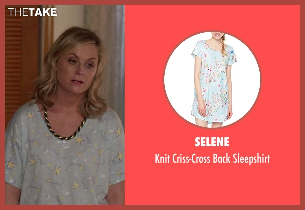 Carole Hochman sleepshirt from Sisters seen with Amy Poehler (Maura Ellis)