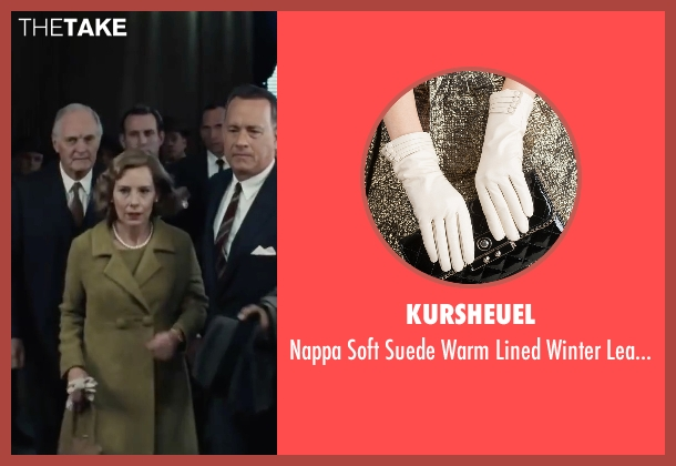 Kursheuel white gloves from Bridge of Spies seen with Amy Ryan (Mary Donovan)