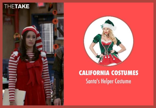 California Costumes costume from Brooklyn Nine-Nine seen with Amy Santiago  (Melissa Fumero)