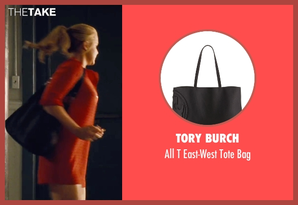 Tory Burch black bag from Trainwreck seen with Amy Schumer (Amy)