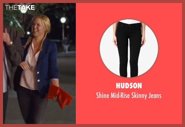 Hudson black jeans from Trainwreck seen with Amy Schumer (Amy)